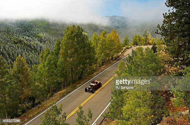 It was a cold but scenic cruise up Mt Evans Road to check out the fall colors and newly fallen snow for vintage car owners who are in town taking...