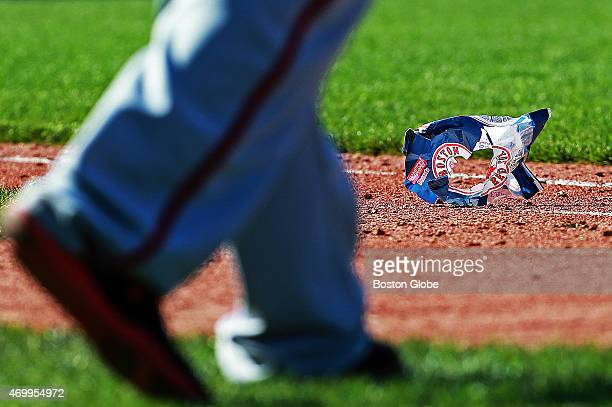 It was a warm but windy day at Fenway and an empty peanut bag was making the rounds in the infield during the top of the seventh inning The Boston...
