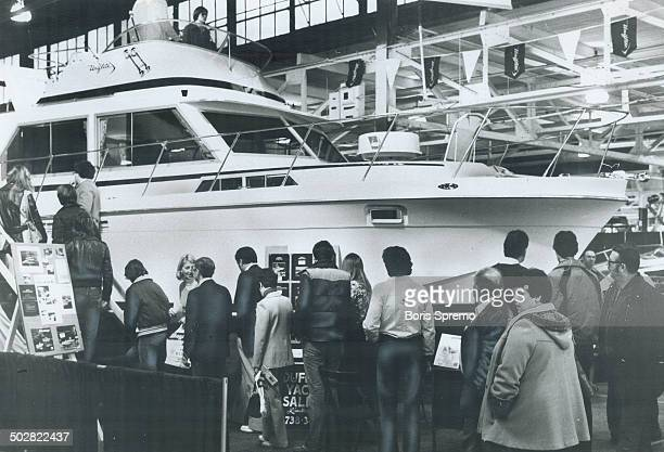 It was easy to forget winter at Boat Show '79 in the CNE Coliseum