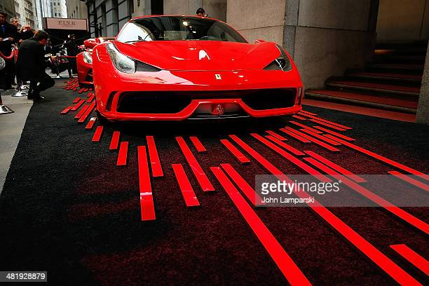 Italia Ferrari on display at the The New Museum Annual Spring Gala at Cipriani Wall Street on April 1 2014 in New York City