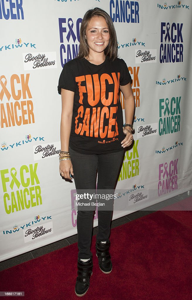 Italia Ricci attends 2nd Annual F*ck Cancer Charity Event LA at Bootsy Bellows on May 9, 2013 in West Hollywood, California.