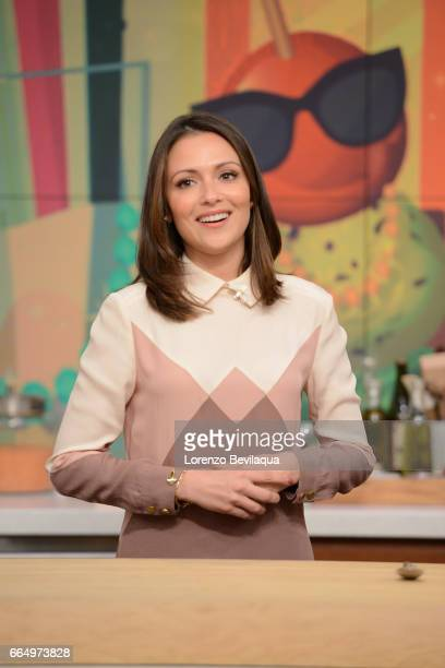 THE CHEW Italia Ricci is the guest Wednesday April 5 2017 on ABC's 'The Chew' 'The Chew' airs MONDAY FRIDAY on the ABC Television Network RICCI