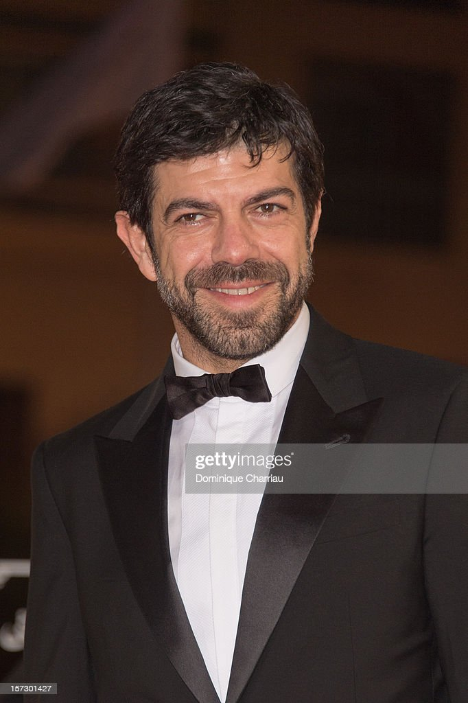 Italian actor and jury menber <a gi-track='captionPersonalityLinkClicked' href=/galleries/search?phrase=Pierfrancesco+Favino&family=editorial&specificpeople=676710 ng-click='$event.stopPropagation()'>Pierfrancesco Favino</a> arrives for the tribute to Hindi cinema at the 12th Marrakech International Film Festival Marrakech International 12th Film Festival on December 1, 2012 in Marrakech, Morocco.