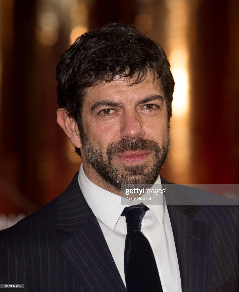 Italian actor and member jury <a gi-track='captionPersonalityLinkClicked' href=/galleries/search?phrase=Pierfrancesco+Favino&family=editorial&specificpeople=676710 ng-click='$event.stopPropagation()'>Pierfrancesco Favino</a> attends the tribute to Jonathan Demme at 12th International Marrakech Film Festival on December 6, 2012 in Marrakech, Morocco.