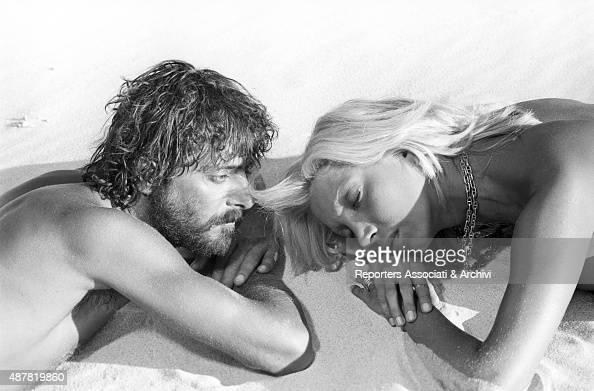 Giancarlo Giannini and Mariangela Melato in Swept away ...