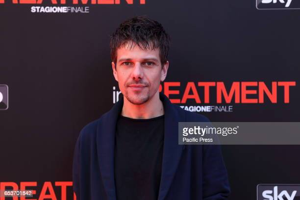 Italian actor Domenico Diele during photocall of the third season of 'In Treatment' a TV series produced by Sky