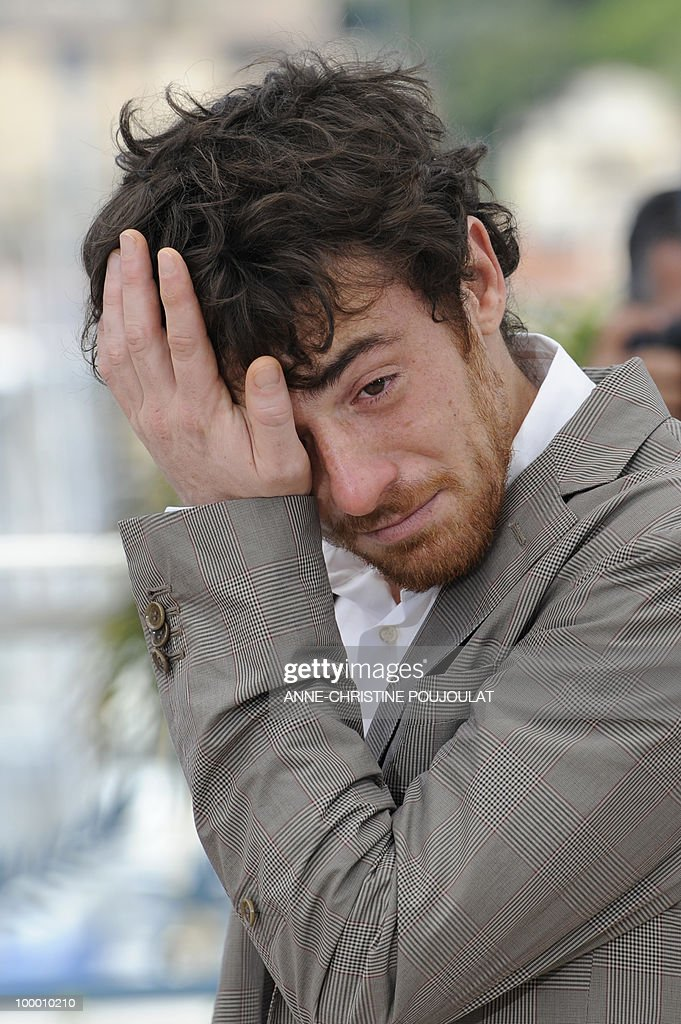 Italian actor Elio Germano poses during the photocall of 'La Nostra Vita' (Our Life) presented in competition at the 63rd Cannes Film Festival on May 20, 2010 in Cannes.