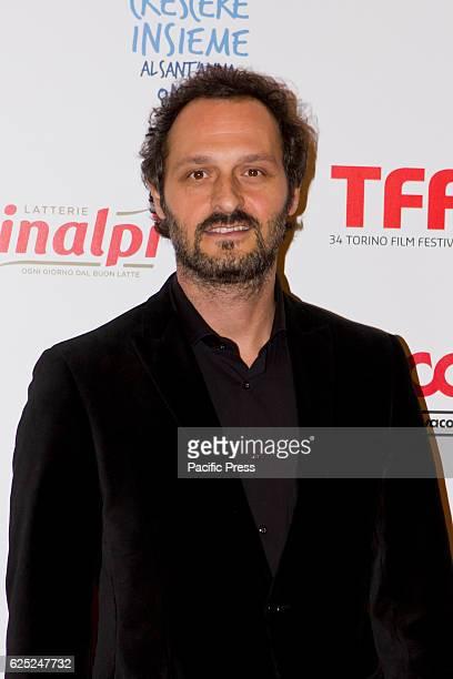 Italian actor Fabio Troiano takes part to charity dinner during Torino Film Festival