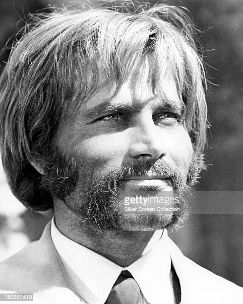 Italian actor Terence Hill with a moustache and sideburns in an unidentified film role circa 1972