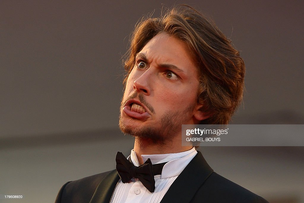 Italian actor Gabriele Rendina arrives for the screening of 'L'Intrepido' presented in competition at the 70th Venice Film Festival on September 4, ... - italian-actor-gabriele-rendina-arrives-for-the-screening-of-in-at-picture-id179508920