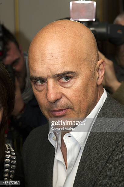 Italian actor Luca Zingaretti attends the opening night of the Bifst Bari International Film Festival on March 21 2015 in Bari Italy