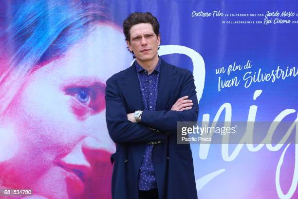Italian actor Matteo Martari during photocall of italian movie '2Night'