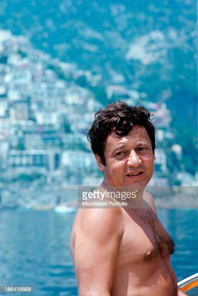 Italian actor Paolo Villaggio passed into the annals of Italian history thanks to his character of the accountant Ugo Fantozzi poses gazing into the...