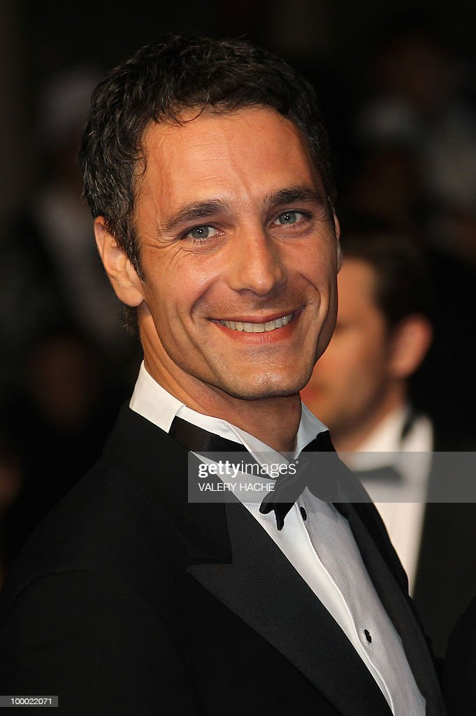 Italian actor Raoul Bova arrives for the screening of 'La Nostra Vita' (Our Life) presented in competition at the 63rd Cannes Film Festival on May 20, 2010 in Cannes.