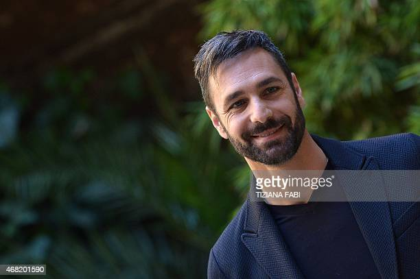Italian actor Raoul Bova poses during a photocall for the film 'La Scelta' in Rome on March 31 2015 'La Scelta' is directed by Michele Placido AFP...