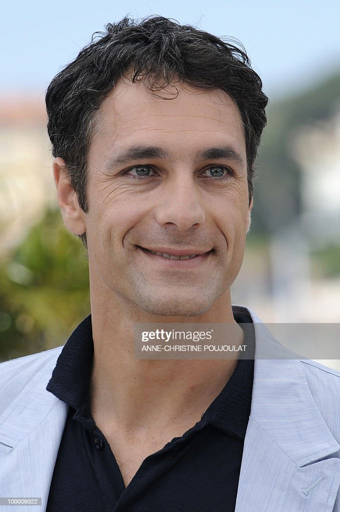 Italian actor Raoul Bova poses during th