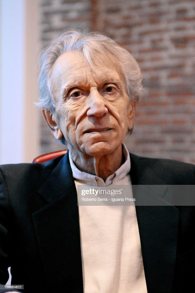 Italian actor Roberto Herlizka poses at University of Bologna's Laboratory of Languages on February 6, 2013 in Bologna, Italy.