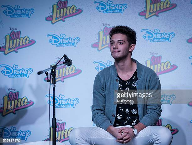 Italian actor Ruggero Pasquarelli during the press conference at the Book Fair on May 2016 in Buenos Aires Argentina