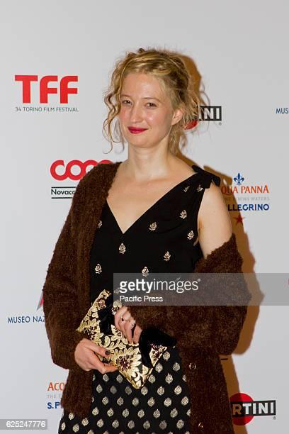 Italian actress Alba Rohrwacher takes part to charity dinner during Torino Film Festival Rohrwacher received 'Premio Cabiria' award