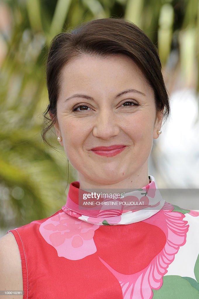 Italian actress Alina Berzenteanu poses during the photocall of 'La Nostra Vita' (Our Life) presented in competition at the 63rd Cannes Film Festival on May 20, 2010 in Cannes.