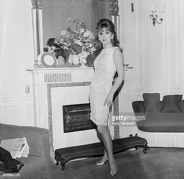 Italian actress and photojournalist Gina Lollobrigida 5th February 1969