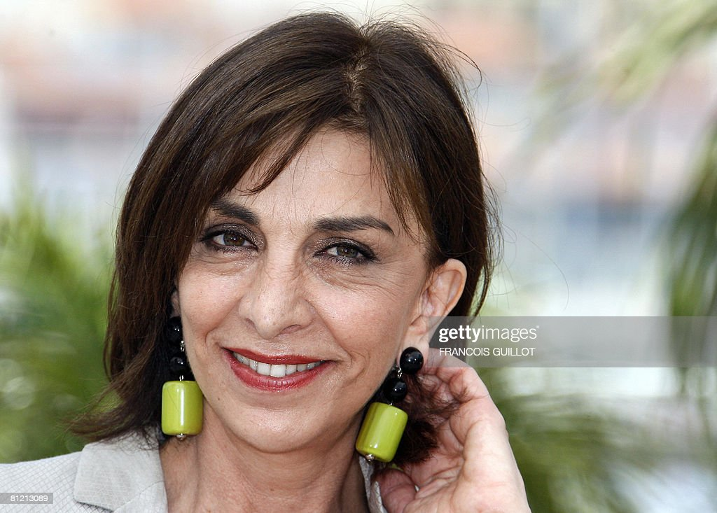 Italian actress Anna Bonaiuto poses during a photocall for Italian director Paolo Sorrentino's film 'Il Divo' at the 61st Cannes International Film...