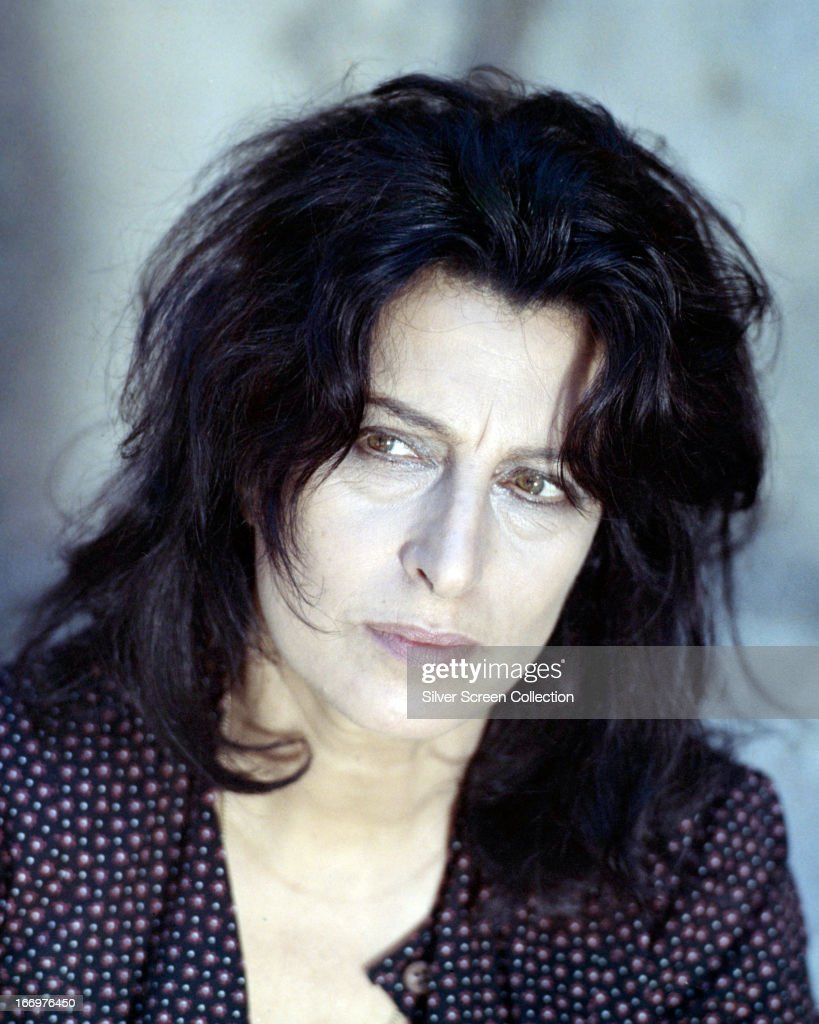 Italian actress Anna Magnani (1908 - 1973) in a promotional portrait for 'The Secret of Santa Vittoria', directed by Stanley Kramer, 1969.