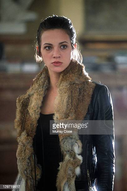 Italian actress Asia Argento as Yelena in a scene from the film 'xXx' 2002