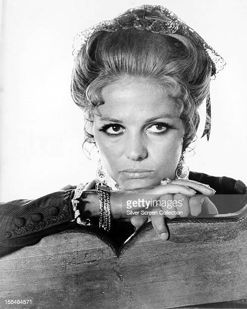 Italian actress Claudia Cardinale as Jill McBain in 'Once Upon a Time in the West' directed by Sergio Leone 1968