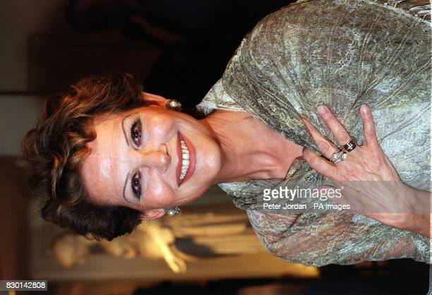 Italian Actress Claudia Cardinale at the Rudolph Valentino Awards where she was awarded with the Lifetime Achievement in Cinema at the Grosvenor...