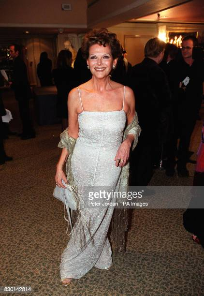 Italian actress Claudia Cardinale at the Rudolph Valentino Awards where she was honoured with a Lifetime Achievement In Cinema at the Grosvenor House...
