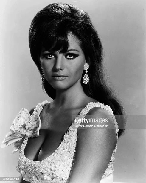 Italian actress Claudia Cardinale circa 1960