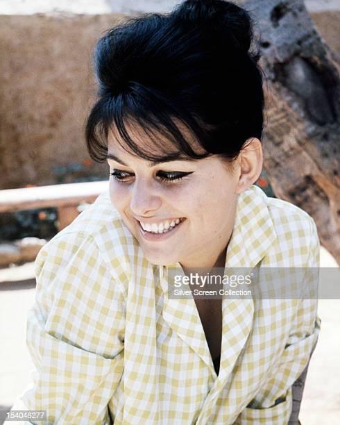 Italian actress Claudia Cardinale circa 1964
