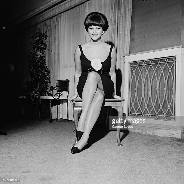 Italian actress Claudia Cardinale UK 19th November 1964