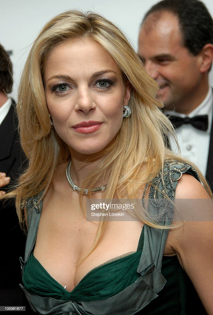 Italian actress Claudia Gerini during American-Italian Cancer Foundation Annual Benefit Gala at The Pierre Hotel in New York City, New York, United States.