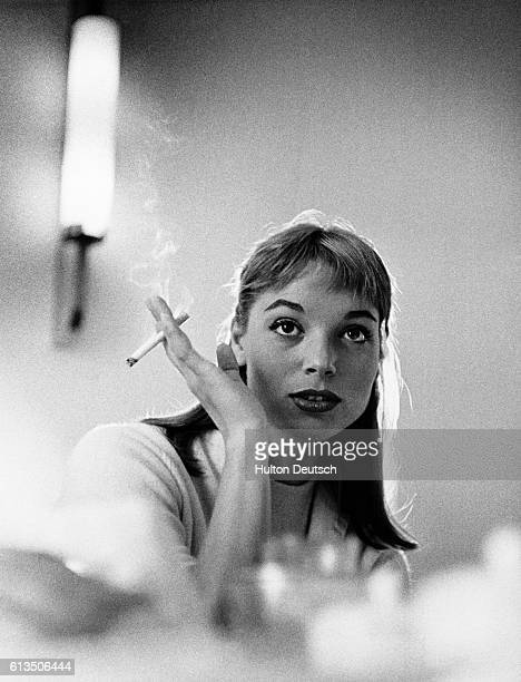 Italian actress Elsa Martinelli London 1956