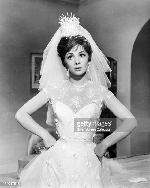 Italian actress Gina Lollobrigida as Lisa Helena Fellini in 'Come September directed by Robert Mulligan 1961