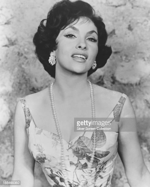 Italian actress Gina Lollobrigida circa 1955