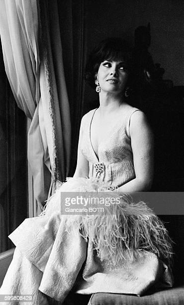 Italian actress Gina Lollobrigida in Italy in March 1965
