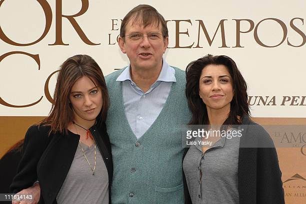 Italian actress Giovanna Mezzogiorno british director Mike Newell and spanish actress Alicia Borrachero attend a photocall for Love in the Times of...