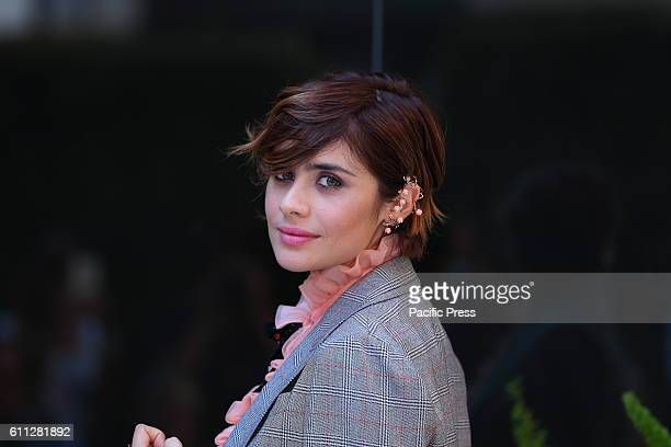 Italian actress Greta Scarano during photocall of 'La Verità sta in cielo' a film by Roberto Faenza based on the story of Emanuela Orlandi