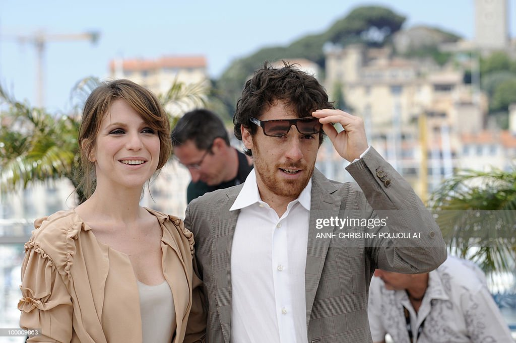 Italian actress Isabella Ragonese and Italian actor Elio Germano pose during the photocall of 'La Nostra Vita' (Our Life) presented in competition at the 63rd Cannes Film Festival on May 20, 2010 in Cannes.