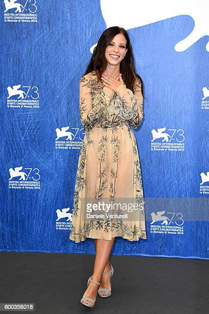 Italian actress Laura Adriani attends a photocall for 'Questi Giorni' during the 73rd Venice Film Festival at Palazzo del Casino on September 8 2016...