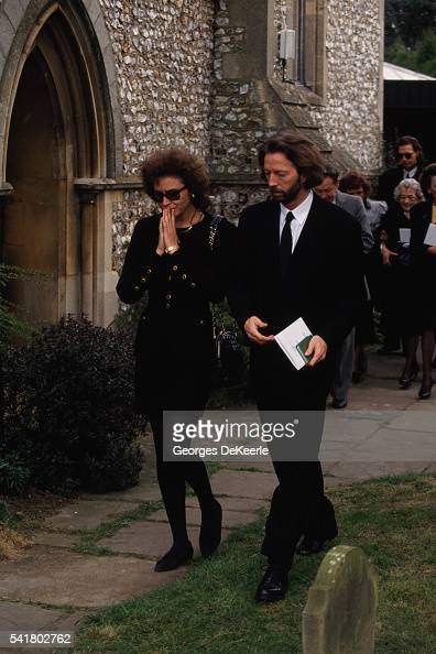 Funeral for Conor Clapton, Son of Musician Eric Clapton ...