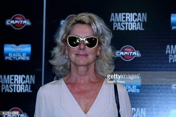 Italian actress Monica Guerritore during Premiere in Cinema Barberini of film 'American Pastoral' in Italy