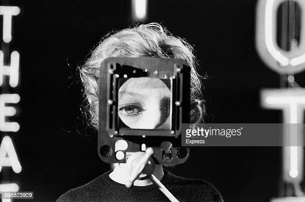 Italian actress Monica Vitti on the set of 'The Girl with the Pistol' 26th October 1967 Images by fashion photographer John Cowan