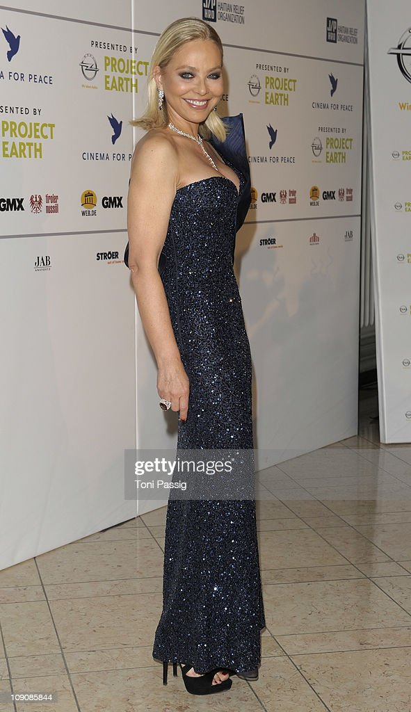 Italian actress Ornella Muti attends the Cinema for Peace Gala at the Konzerthaus am Gendarmenmarkt during day five of the 61st Berlin International Film Festival on February 14, 2011 in Berlin, Germany.