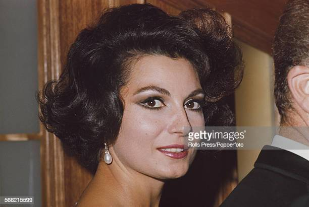 Italian actress Rosanna Schiaffino who stars as Francesca in the film 'Drop Dead Darling' pictured in 1967