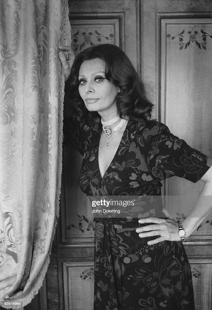 Italian actress <a gi-track='captionPersonalityLinkClicked' href=/galleries/search?phrase=Sophia+Loren&family=editorial&specificpeople=94097 ng-click='$event.stopPropagation()'>Sophia Loren</a>, 7th March 1980.
