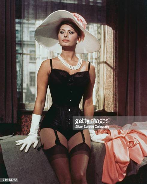 Italian actress Sophia Loren as Epifania Parerga in 'The Millionairess' directed by Anthony Asquith 1960